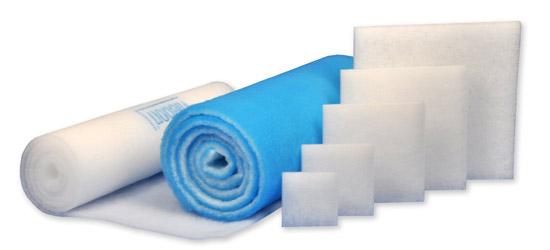Ersatz-Filtermatten (G2, G3, G4, M5) für Schaltschrank-Filterlüfter und Luftfiltrationsanwendungen als Zuschnitt oder auf Rolle schnell und preiswert ab Lager.