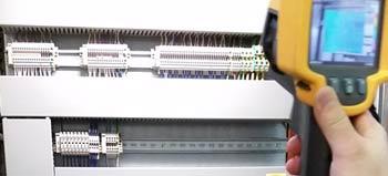 WärmeCheck zum Schutz der Steuer-Elektronik vor Ausfall durch Übertemperatur in Schaltschränken / Maschinenschränken.
