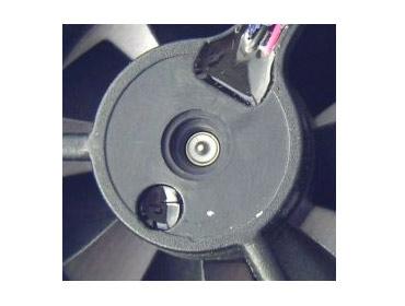 Hohe Schutzart IP25 / IP55 des Kompakt-Axiallüfters