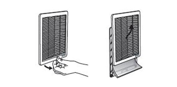 Filtermattenwechsel Serie FF - Schnell, sicher und werkzeuglos
