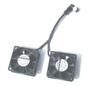 Kompakt-Axiallüfter konfektioniert mit Kabel und Stecker nach spezifischer Kundenvorgabe