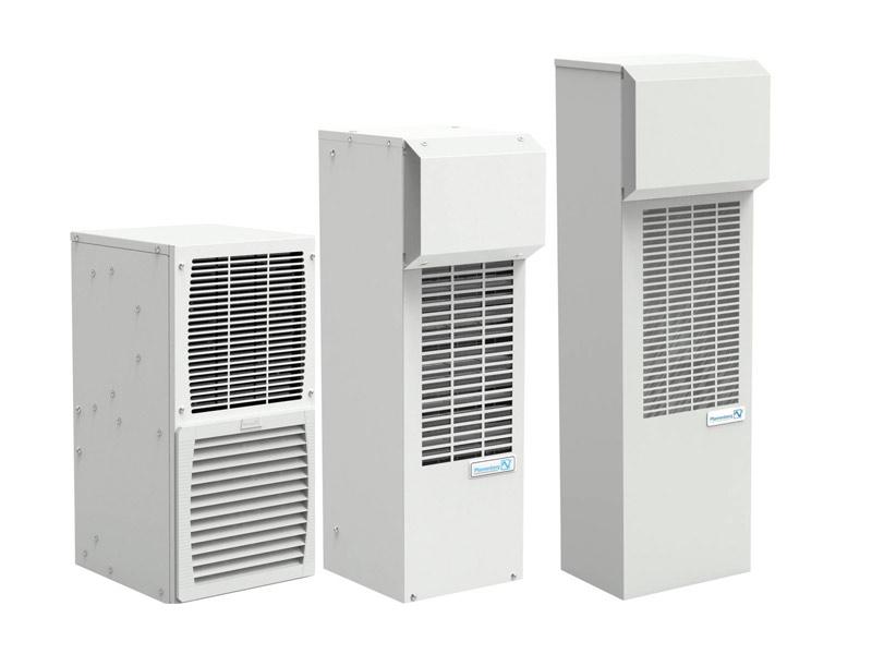 Produktübersicht der Schaltschrank-Kühlgeräte-Serie DTS_HT
