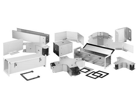 Modular aufgebautes Kabelmanagement-System