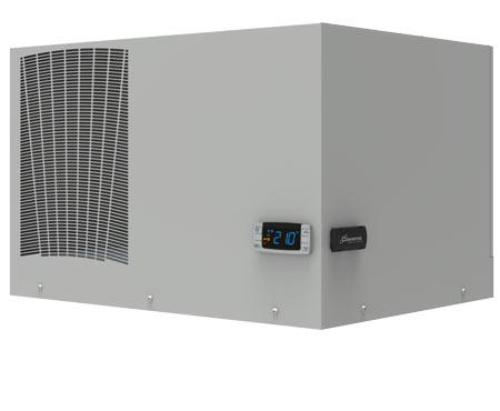 Kühlgeräte-Serie ETE für Dachaufbau