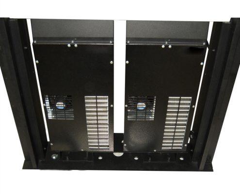 Kühlgeräte für Display-Anzeigen und Outdoor-Stelen