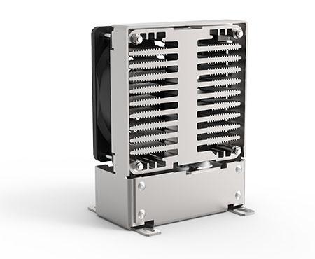 FLH 250 SL Schaltschrank-Heizung -Kompaktes Heizgebläse für den Einsatz auf engstem Raum durch kompaktes Design