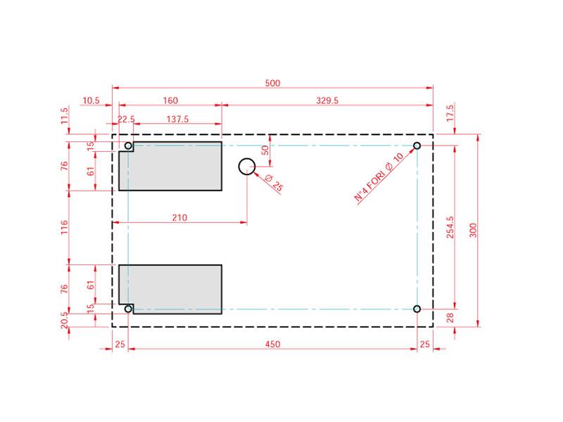 Schaltschrank-Kühlgerät SMART 420 Watt zur horizontalen Montage