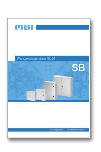 MBI Produktbroschüre GL66 Wandanbaugehäuse