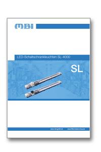 Katalog-Teaser zum Produktkatalog LED-Schaltschrankleuchten SL 4000