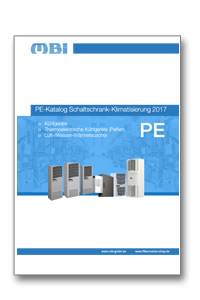 Katalog-Teaser zum Produktkatalog PE Schaltschrank-Klimatisierung 2017