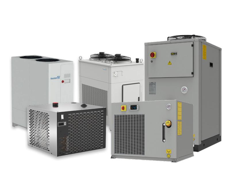 Übersicht der Rückkühlanlagen