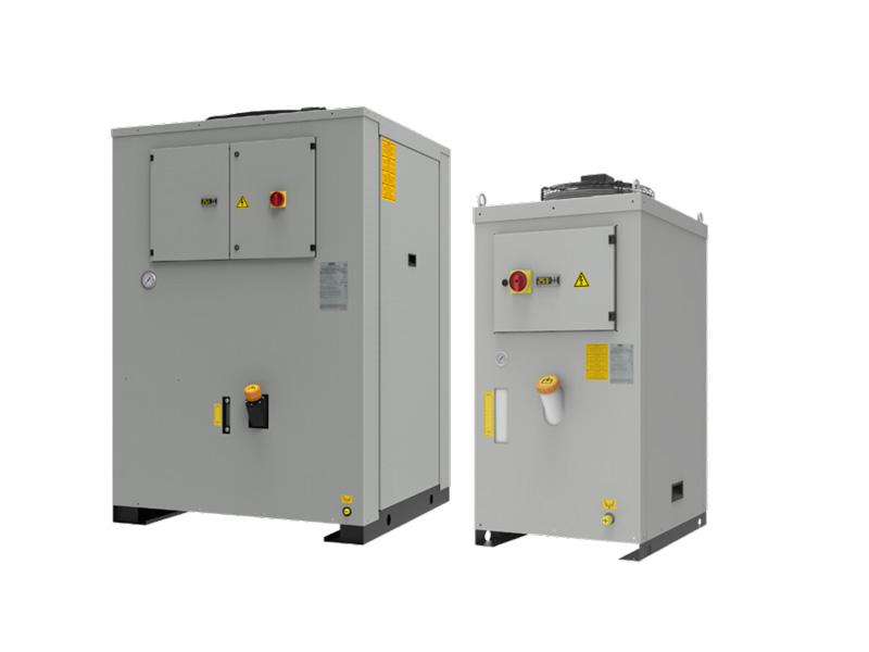 WRA Vertical Rückkühlanlagen mit einer Leistung von 3,6 - 51 kW