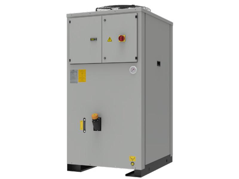 WRA-Vertical Rückkühlanlagen von 3,6 - 51 kW