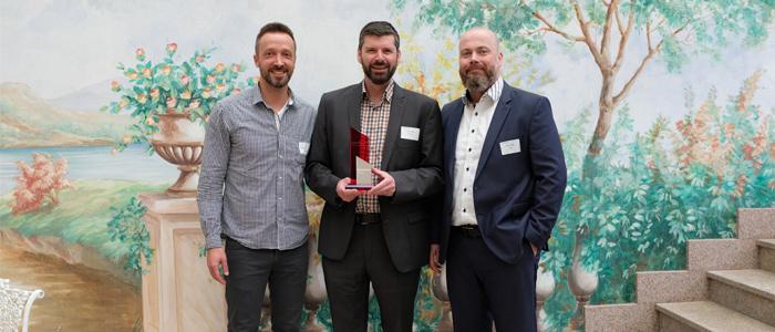 MBI erhält im April 2018 den Hoffman Growth Performance Award