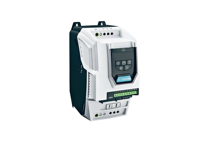 Kompakter und leistungsstarker Frequenzumrichter VERSIDRIVE I PRO/3PROzur energiesparenden Drehzahlregelung von Elektroantrieben