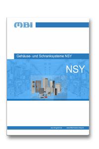NSY Gehäuse- und Schranksystem Katalog