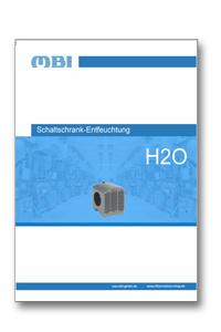 H2O Schaltschrank-Entfeuchter Katalog