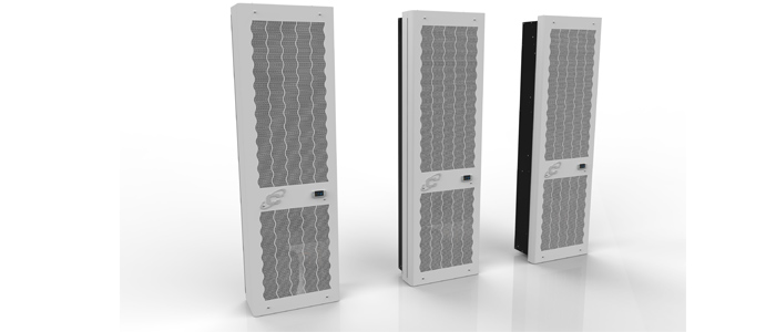 Schaltschrank-Kühlgeräte SLIM IN CDE