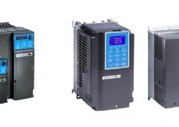 Produktübersicht der neuen Frequenzumrichter-Serien MS3 + C2