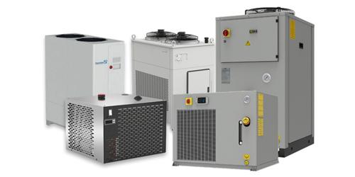 Produktübersicht Chiller/Wasserkühlung