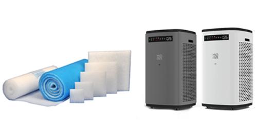 Filtermatten - Luftfiltration Produktübersicht