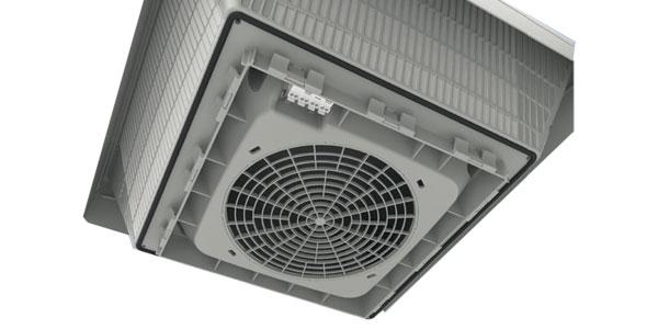 Dachfilterlüfter-Serie Kyros Roof mit zertifiziertem Schutzgrad