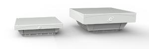 Auswahl nach Luftfördermenge Serie Kryos Roof